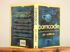 Barricade by Jon Wallace (Paperback, 2014) signed by author