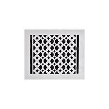 "Cast Aluminum floor Register Grate 8"" x 10"" Home Decor Powder Coated Vent Cover"