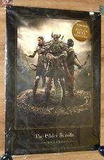 The Elder Scrolls Online promo Artwork Poster  very Rare 30x42cm Gamescom 2013