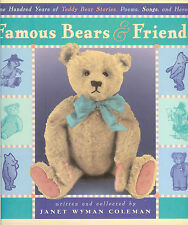 Famous Bears & Friends - 100 Years of Teddy Bear Stories-Poems-Songs-Heroics HB