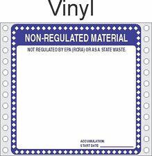 Non Regulated Material Vinyl Labels HWL276V (PACK OF 500)
