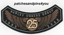 Harley Davidson HOG Harley Owners Group 2008 Patch NEW! FREE U.K. POSTAGE!
