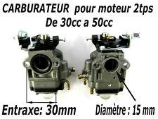 CARBURATEUR moteur 2t 30a 50cc debroussailleuse tariere pompe mitsubishi piece