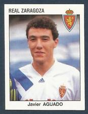 PANINI FUTBOL 93-94 SPANISH -#348-REAL ZARAGOZA-JAVIER AGUADO