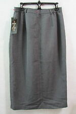 New Women's Requirements Gray Skirt Size 14 Petite