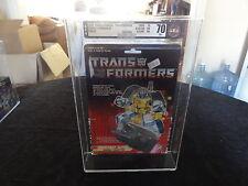 1988 Transformers AFA Canada Sparkabot Guzzle MIB BOX