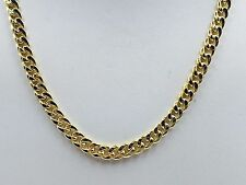 "14k Yellow Gold Miami Cuban Curb Link 24"" 5MM 21 Grams Chain Necklace  (HMC150)"