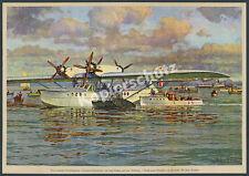 Großflugboot Dornier Superwal Abflug Passagiere Friedrichshafen Luftfahrt 1928!!