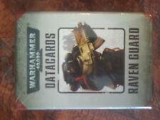 WARHAMMER 40K RAVEN GUARD DATACARDS - NEW & SEALED
