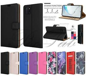 For Samsung Galaxy Note 10 Lite, Magnetic Flip Leather Wallet Phone Case Cover
