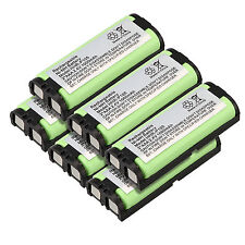 Lot of 6pc 2.4V 1000mAh Phone Battery for Panasonic HHR-P105 P105 HHRP105A KX242