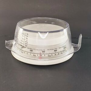 Weight Watchers Food Scale 500 Grams Round Plastic 2 Cup Measuring Cup