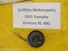 91 92 93 YAMAHA Venture XL VT480XL 88T OEM tachometer gauge tach rpm engine nice