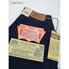 LEVI'S jeans LEVIS 901 Blu Dyed Regular Fit Tapered Leg ORIGINAL TOP VINTAGE