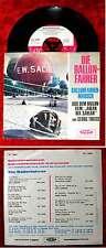 Single Ballonfahrer: Ballonfahrer-Marsch (Vogue DV 14603) D 1967  - rar!!!