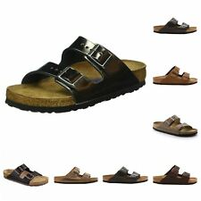 Men's Birkenstock Arizona Cuir M Sandals in Brown UK 9 / EU 43