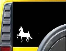 American Saddlebred Horse *J371* 6 inch Decal Sticker