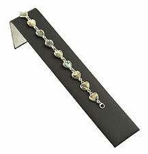 Black Leatherette Watch Bracelet Jewellery Shop Presentation Display Ramp 239LBK