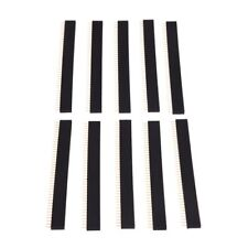 Nouveau 10 pcs 1X40 Pin 2.54 mm pitch Straight Single Row PCB Female Pin headers K0R6