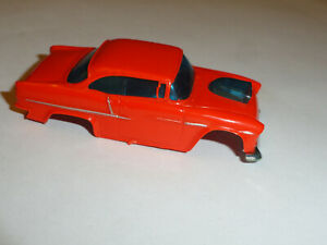 AURORA AFX 55 CHEVY BELAIR HO SLOT CAR BODY ONLY IN USED CONDITION PLEASE LOOK