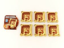 Small World Replacement Fortified Special Power Badge & Fortress Token Set 7pc