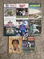 Mixed Lot of 8 Vintage Minnesota Twins and Metrodome Publications