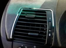 D bmw x5 e53 cromo marco para conducto de ventilacion exterior de acero inoxidable pulido 2 piezas