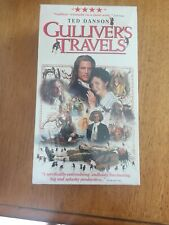 Gullivers Travels (VHS, 1996, 2-Tape Set)  TED DANSON