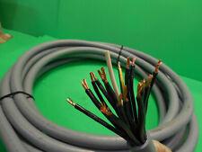 """30"""" Lutze Silflex SI N PVC 18GAWG14 18 Conductor 14 Gauge 600V PVC Jacket Wire"""