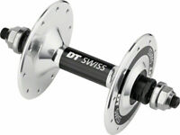 DT Swiss Track Front Hub - Bolt-on 20h Polished