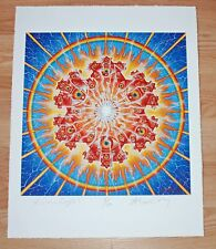 Alex Grey Art Print Vision Crystal Poster S/# of 100 Tool Third Eye Artist