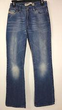 DIESEL Industry Men's Boot Cut Blue Denim Made In Italy Jeans 27 x 31 ART 793