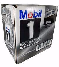Mobil 1 5W-20 Advanced Full Synthetic Motor Oil 1QT bottles 6 Pack