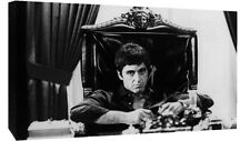 SCARFACE VINTAGE MOVIE FILM TONY MONTANA Cotton Canvas Wall Art Picture Print