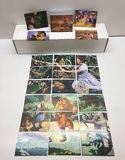 THE WIZARD OF OZ SERIES 2 Breygent Complete Base Card Set with 18 CHASE CARDS