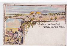 K 634 - DSWA -Litho Ansichten  Nama-Land, ungelaufen
