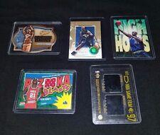 5 Different Kevin Garnett Cards ~ '96,'01,'02 Fleer, '97 Upper Deck, '03Topps