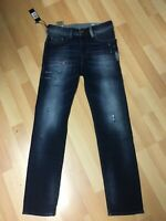 NWT Mens Diesel BUSTER Stretch Jeans 084GF Dark Blue Slim W28 L30 H6 RRP£170