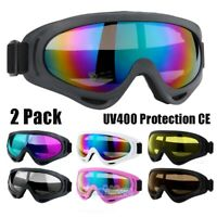 Professional Ski Snowboard Snowmobile Goggles Double Anti-fog UV 400 Sunglasses