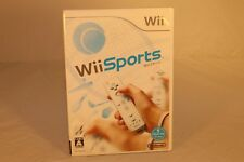 Wii SPORTS NINTENDO Wii COMPATIBLE Wii-U JAPAN NTSC-J