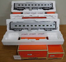 Lionel 25727 California Zephyr Western Pacific 18'' Aluminum 2 Passenger O Scale
