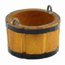 Dolls House Miniature Large Wooden Bucket / Churn
