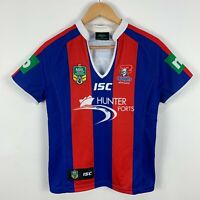 Newcastle Knights NRL Jersey Youth 10 ISC Short Sleeve