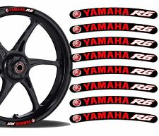 8 YAMAHA R6 WHEEL RIM VINYL STICKERS STRIPES MOTO CAR BIKE MOTORCYCLE TUNING RV2