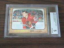 1966-67 Topps USA Test Issue #62 Stan Mikita Card Beckett 5 EX Blackhawks