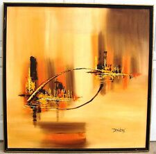 Danners Oil or Acrylic Painting City View Windsor Art Product Illinois Moulding