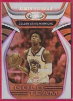 2020-21 Certified James Wiseman Gold Team Rookie RC #2 Golden State Warriors