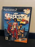 NBA Street 2 Vol. 2 Sony PlayStation 2 PS2 Complete Black Label Ships Free