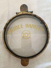Vintage Prince  Hamlet 10 Cent Cigar Display Can Tin Jar Humidor Glass Lid/Top