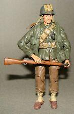 "1/18 Unimax Fov  WWII U.S Marine Infantry Normandy 1944 Rifleman Figure 4"""